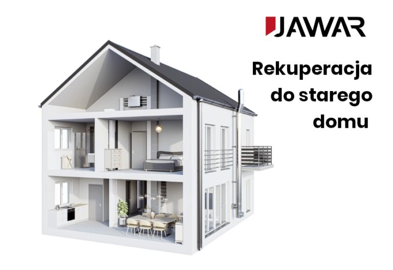 System rekuperacji do istniejących budynków