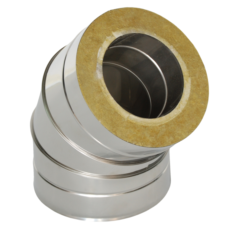 Insulated elbow 45°
