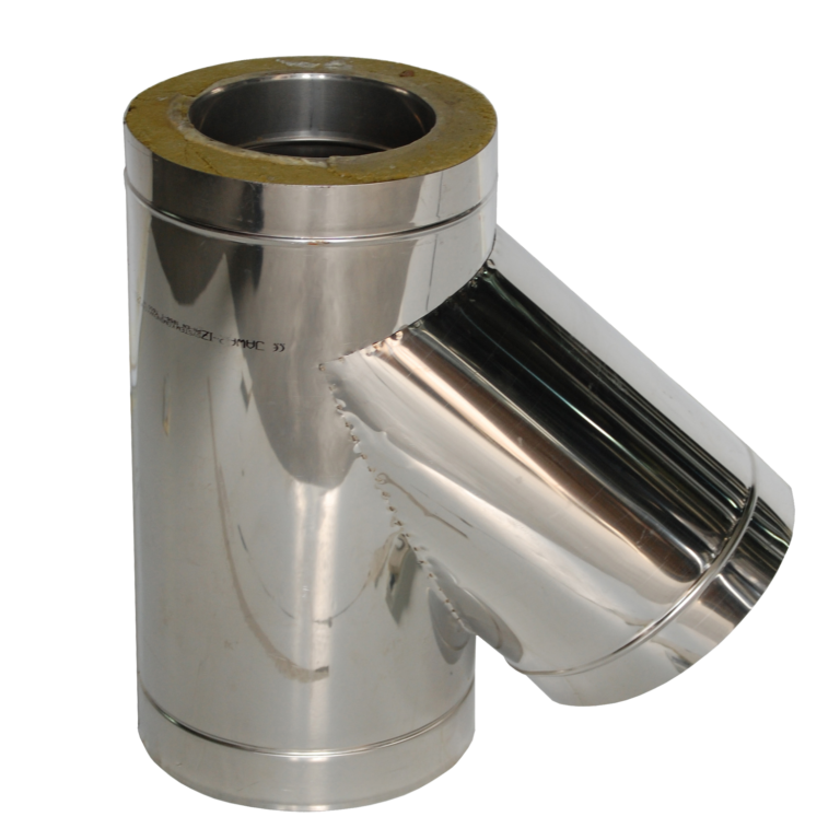 Insulated T-pipe 45°