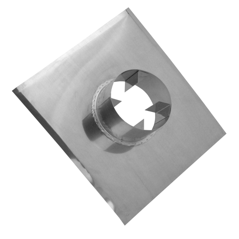 Top plate with air gap
