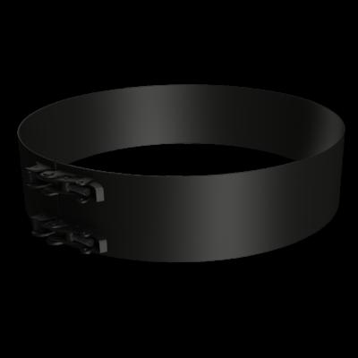 Flat locking band