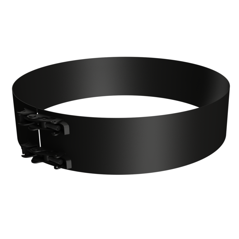 Flat locking band