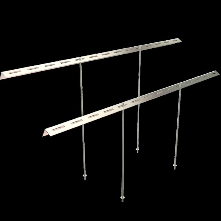 Chimney suspension rods