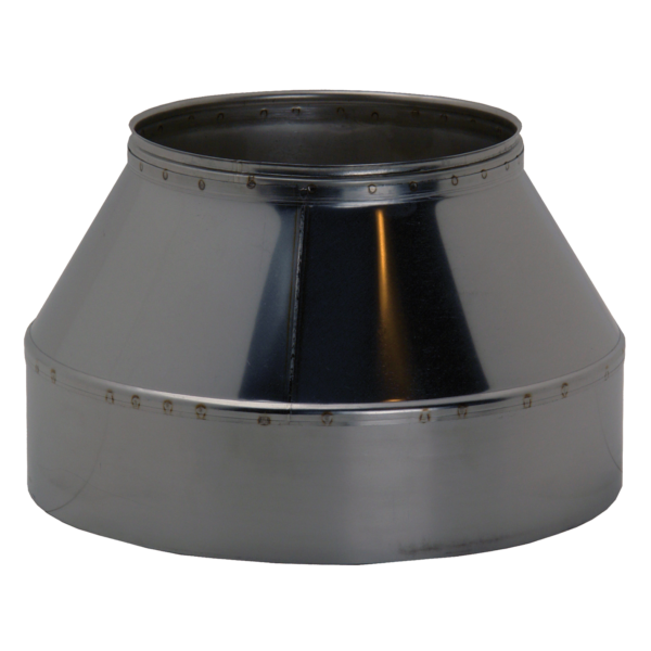 Steel end cone