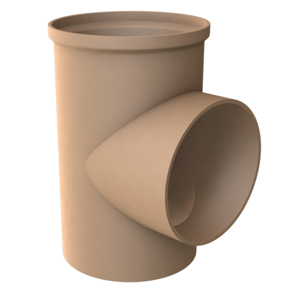 Isostatic T-pipe