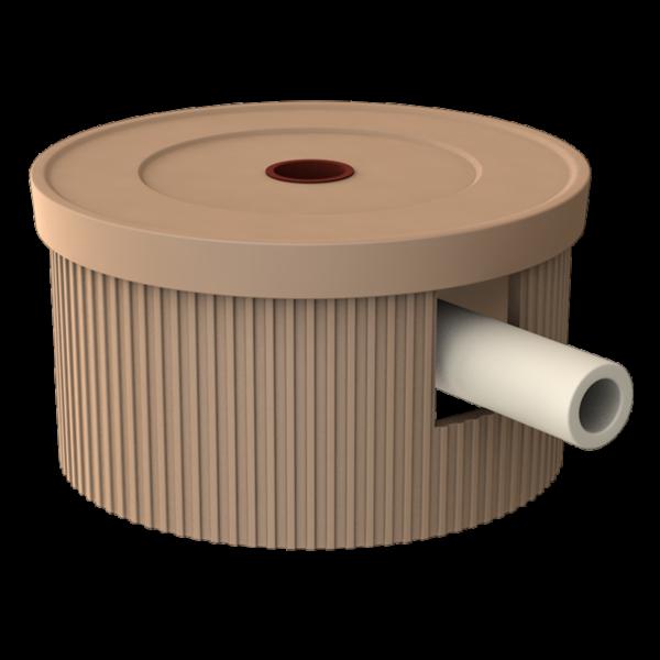 Ceramic condensate tray