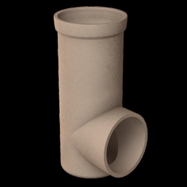Isostatic elbow 80mm