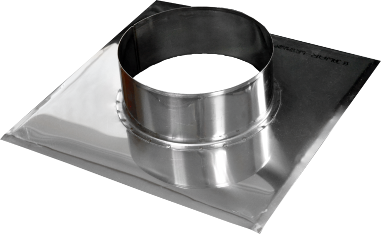 Top plate with flange
