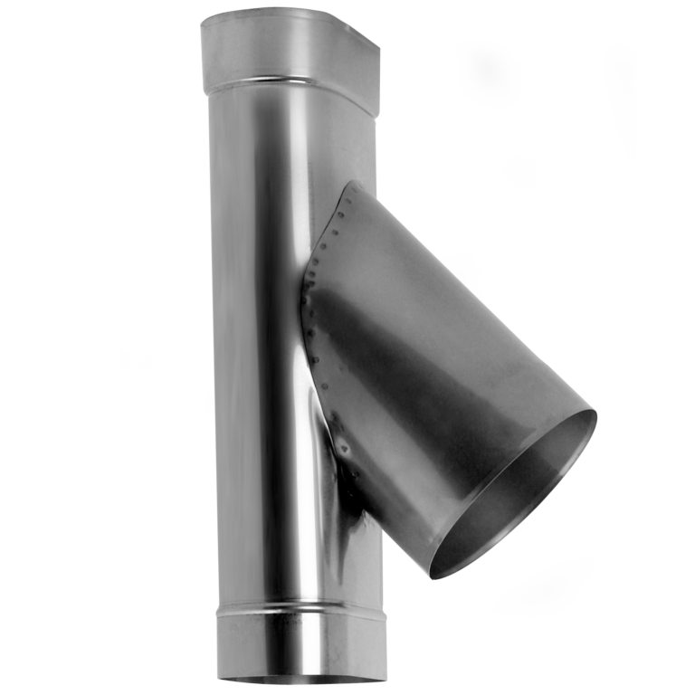 T-pipe 45° oval