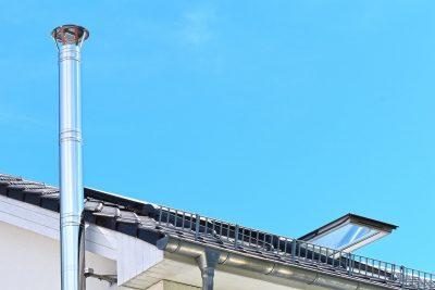 Komin - ile ponad dach